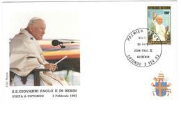 14336 - Visite JEAN PAUL II - Bénin – Dahomey (1960-...)
