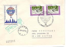14337 - PRZESYLKA BALONOWA - Poste Aérienne