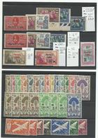Madagascar: Un Lot De France Libre Sur 2 Plaquettes, Cote YT 124€ - Madagascar (1889-1960)
