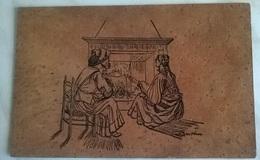 CARTOLINA DI SUGHERO  - COSTUMI SARDI (1220) - Cartoline