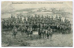CPA - Carte Postale - Belgique - Bourg Léopold - Camp De Beverloo - Un Escadron Dans Les Dunes D'Hechtel - 1912 (M7427) - Leopoldsburg (Kamp Van Beverloo)
