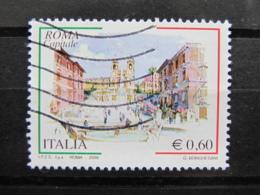 *ITALIA* USATI 2009 - 3^ ROMA CAPITALE - SASSONE 3079 - LUSSO/FIOR DI STAMPA - 6. 1946-.. Repubblica