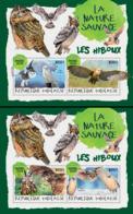 Togo  2018    Fauna Owls  ( 2 Sheetlets)   S201901 - Togo (1960-...)