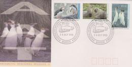 Australian Antarctic Territory 1993 Wildlife II ,Mawson Base, FDC, - FDC