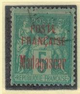 MADAGASCAR            N°  YVERT      14          OBLITERE       ( O   3/43  ) - Madagascar (1889-1960)
