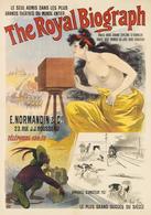Product Postcard The Royal Biograph E.Normandin 1890s - Reproduction - Publicité