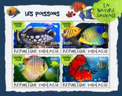 Togo  2018    Fauna  Fishes S201901 - Togo (1960-...)