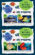 Togo  2018    Fauna Fishes  ( 2 Sheetlets)   S201901 - Togo (1960-...)