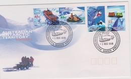 Australian Antarctic Territory 1998 Transports ,Mawson Base, FDC - FDC