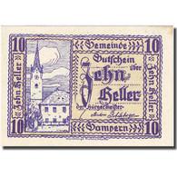 Billet, Autriche, Gampern, 10 Heller, Eglise, 1920, 1920-05-12, SPL, Mehl:FS 221 - Autriche