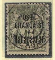 MADAGASCAR            N°  YVERT      21         OBLITERE       ( O   3/43  ) - Madagascar (1889-1960)