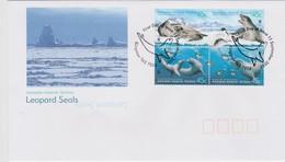 Australian Antarctic Territory 2002 Leopard Seals, FDC, - FDC