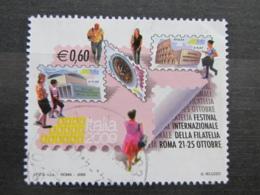 *ITALIA* USATI 2009 - FESTIVAL FILATELIA ITALIA 2009 - SASSONE 3074- LUSSO/FIOR DI STAMPA - 6. 1946-.. Repubblica