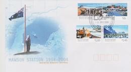 Australian Antarctic Territory 2004 Mawson Stations,Mawson Base, FDC - FDC