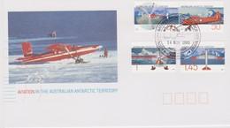 Australian Antarctic Territory 2005 Aviation,Mawson Base, FDC - FDC