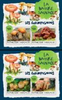 Togo  2018 Mushrooms ( 2 Sheetlets)    S201901 - Togo (1960-...)