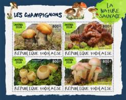 Togo  2018 Mushrooms    S201901 - Togo (1960-...)