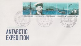 Australian Antarctic Territory 2011 Antarctic Expedition,Departure And Journey,Davis Base,FDC - FDC