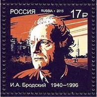 Russia 2015. Joseph Brodsky.MNH. Pf.** - Ongebruikt