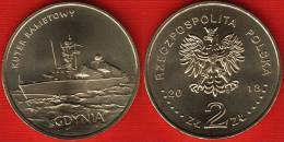 "Poland 2 Zlote 2013 ""Polish Ships – Gdynia Missile Boat"" UNC - Pologne"