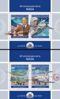 Togo  2018  NASA  Space ( 2 Sheetlets)    S201901 - Togo (1960-...)