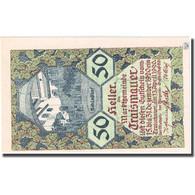 Billet, Autriche, Traismauer, 50 Heller, Village 1920-12-31, SPL, Mehl:FS 1078II - Autriche
