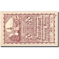 Billet, Autriche, Traismauer, 20 Heller, Village 1920-12-31, SPL, Mehl:FS 1078II - Autriche