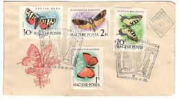 14351 - HONGRIE - Papillons