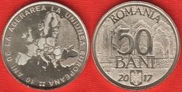 """Romania 50 Bani 2017 """"European Union"""" UNC - Roumanie"""