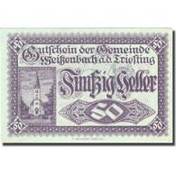 Billet, Autriche, Altenmarkt  An Der Triesting 50 Heller 1920-10-01 SPL FS 1155a - Autriche