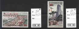 Cameroun, YT P.A. N° 50& 51,  Neufs*  Cote 56€ - Cameroun (1960-...)