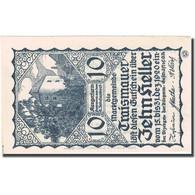 Billet, Autriche, Traismauer, 10 Heller Château, 1920, 1920-12-31, SPL FS 1078II - Autriche