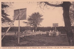 (14) SAINT AUBIN Sur MER . Manoir Des Enfants Heureux . Le Jeu  Du Basket-Ball - Saint Aubin