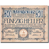 Billet, Autriche, Traiskirchen, 50 Heller, Eglise, 1921-05-31, SPL FS 1077b - Autriche