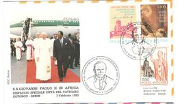 14356 - Visite JEAN PAUL II Au BENIN - Bénin – Dahomey (1960-...)