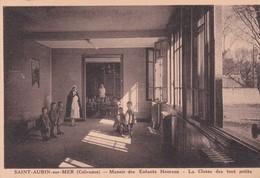 (14) SAINT AUBIN Sur MER . Manoir Des Enfants Heureux . La Classe Des Tout Petits - Saint Aubin