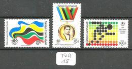 TUR YT 2436/2438 En Xx - 1921-... República