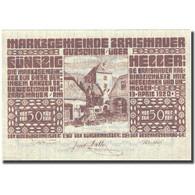 Billet, Autriche, Traismauer, 50 Heller, Village 1920-12-31, SPL, Mehl:FS 1078I - Autriche