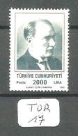 TUR YT 2610 En (x) - 1921-... República