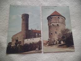 LOT DE 2 CARTES....REVAL...DER LANGE HERMANN ET KOK - Estonie