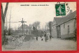 ARQUEVES - Calvaire Et Grande Rue - - France