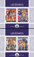 Togo  2018  Chess ( 2 Sheetlets)    S201901 - Togo (1960-...)
