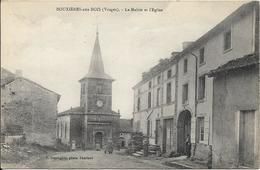 BOUXIERES AUX BOIS La Mairie Et L' Eglise - France