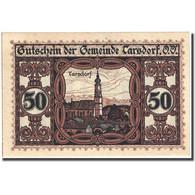 Billet, Autriche, Tarsdorf, 50 Heller, Eglise 1921-01-31, SPL, Mehl:FS 1056a - Autriche