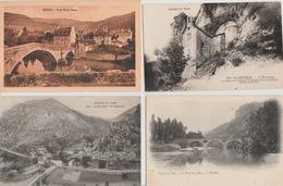 19 / 2 / 344  - 500  C P A / C P S M  DU. DEPT.  48  À. 26€ ,50  +  PORT  ( 8€ ,80  POUR  LA  FRANCE ) - Cartes Postales