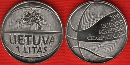 """Lithuania 1 Litas 2011 Km#177 """"Basketball"""" UNC - Lithuania"""