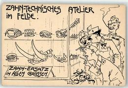 52925409 - Sign. Kristen, Rud. Zahntechnisches Atelier Im Felde - Guerra 1914-18