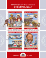 Togo  2018   Henry Dunant  Red Cross    S201901 - Togo (1960-...)
