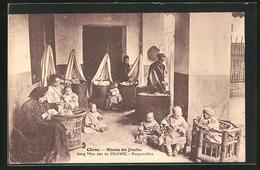 AK Chine, Mission Des Jesuites, Seng Mou Yen De Zikawei, Pouponniere - Chine