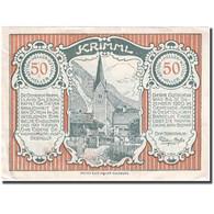 Billet, Autriche, Krimml, 50 Heller, Eglise 1920-12-31, TTB+, Mehl:FS 483c - Autriche